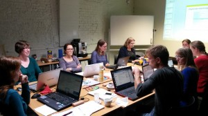 memoQ-training: de groep